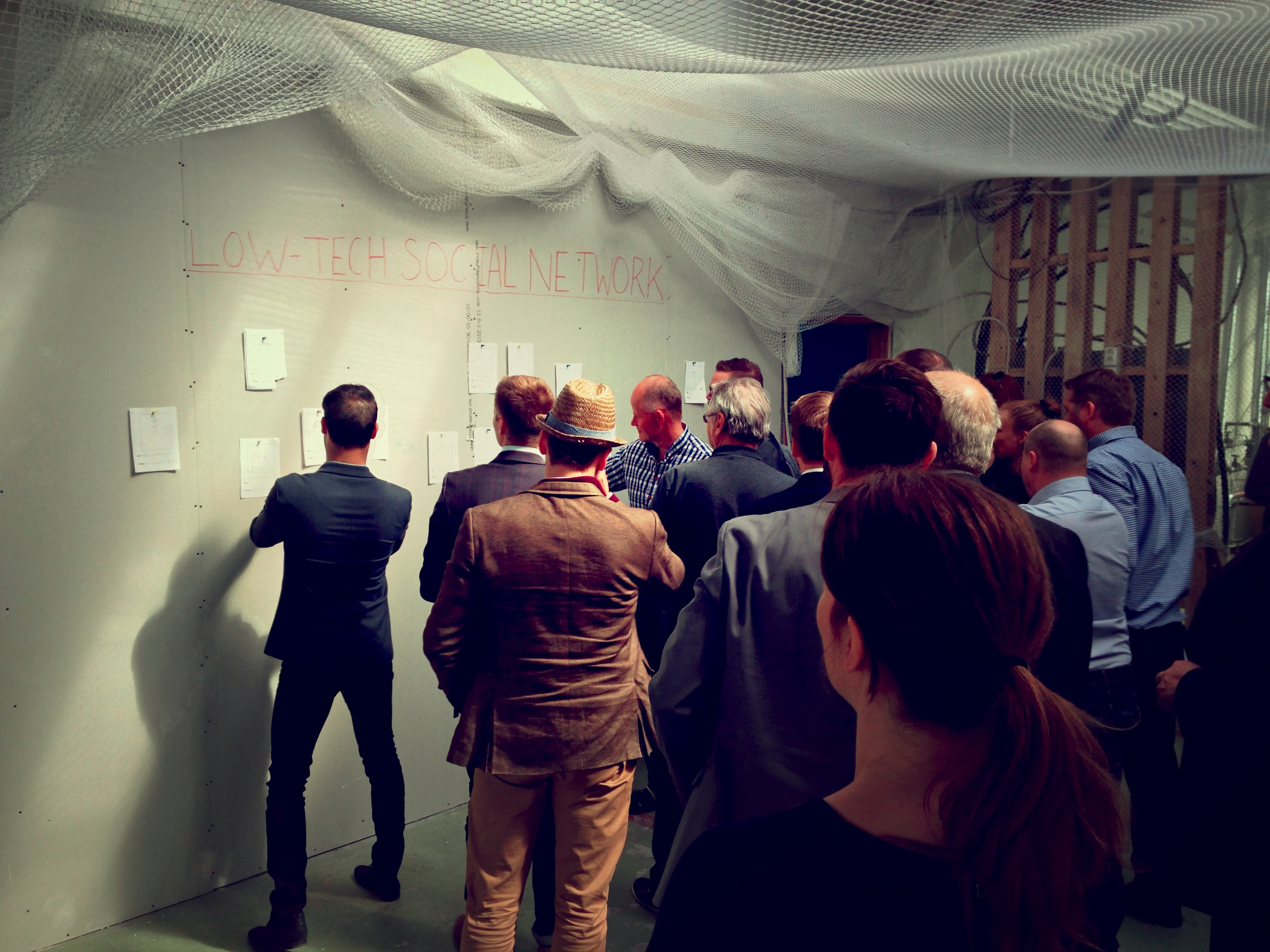 Brainstorm at the Ocean Cluster House a success