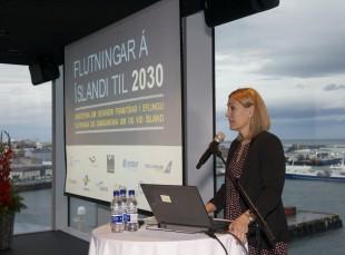 Ráðstefnan Flutningar á Íslandi til 2030 vel sótt